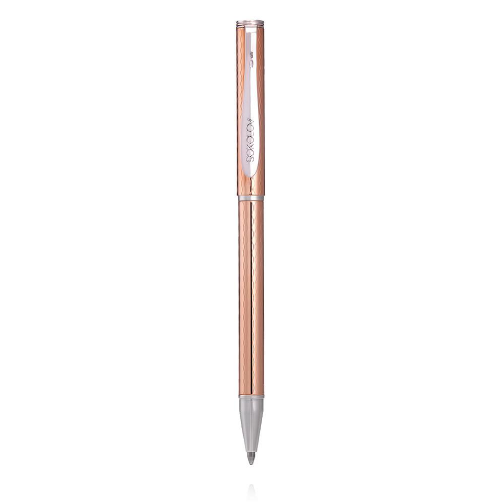 Купить со скидкой Ручка из белого серебра 925 пробы