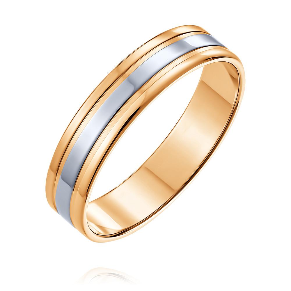 Обручальное кольцо из красного золота 585 пробы