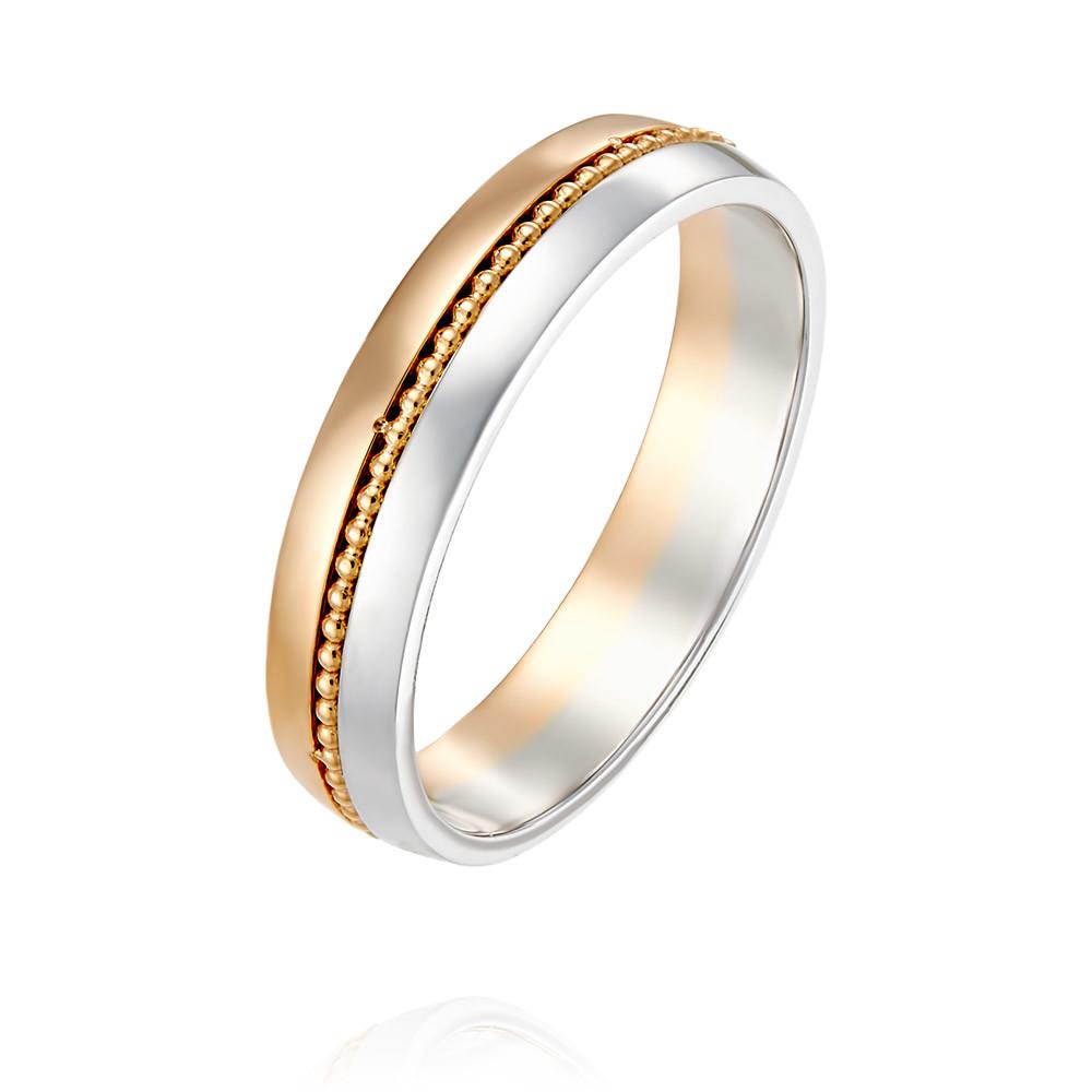 Купить со скидкой Обручальное кольцо из красного золота 585 пробы
