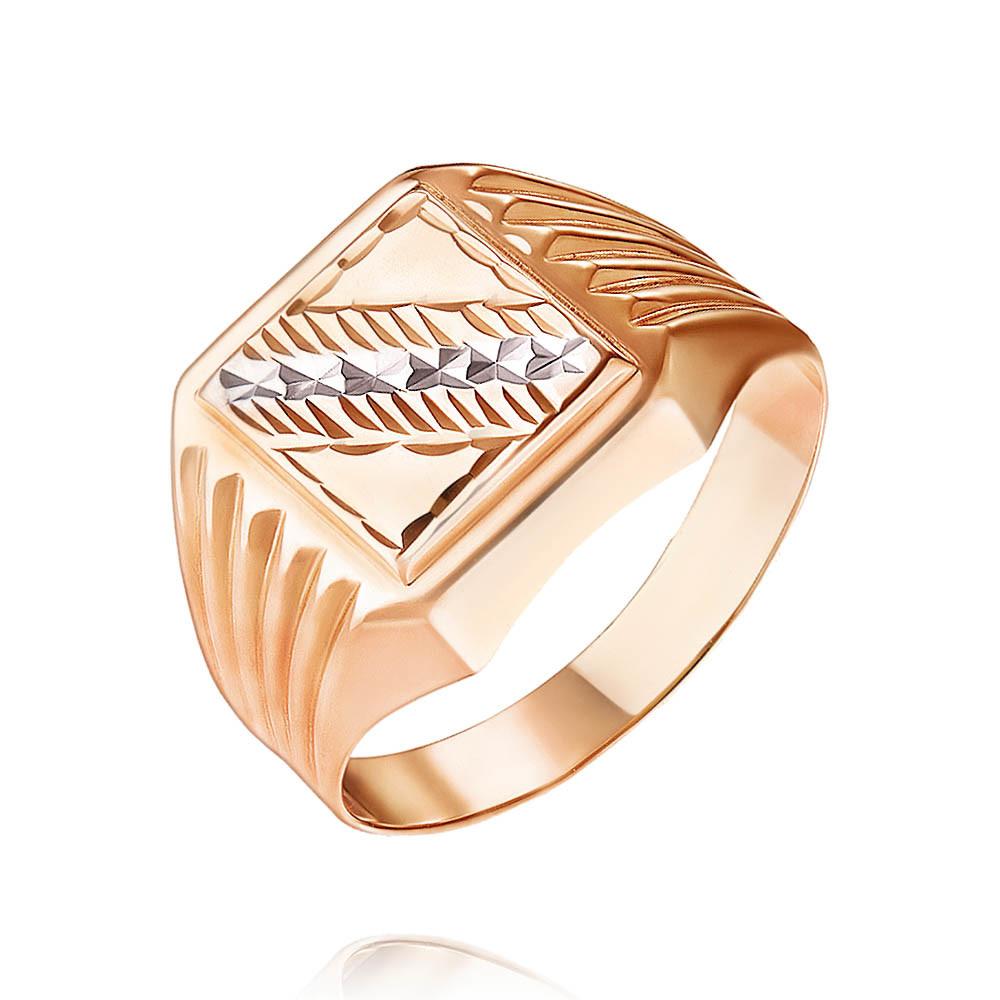 Купить Кольцо из красного золота 585 пробы, Другие, Красный, Для мужчин, 1319840/01-А507-01