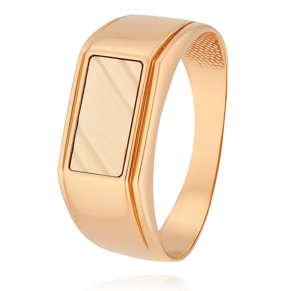 Кольцо из красного золота 585 пробы, Другие, Красный, Для мужчин, 1330568/01-А502-01  - купить со скидкой