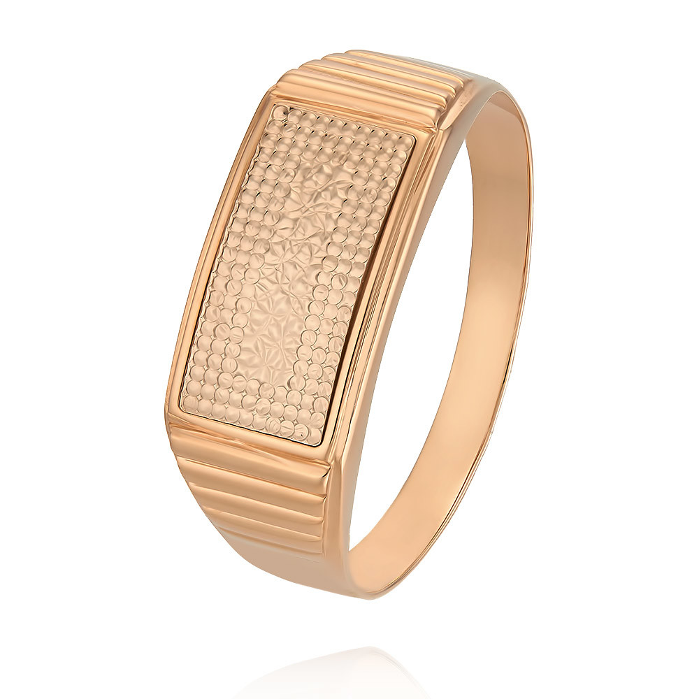 Купить Кольцо из красного золота 585 пробы, Другие, Красный, Для мужчин, 1330633/01-А501-01