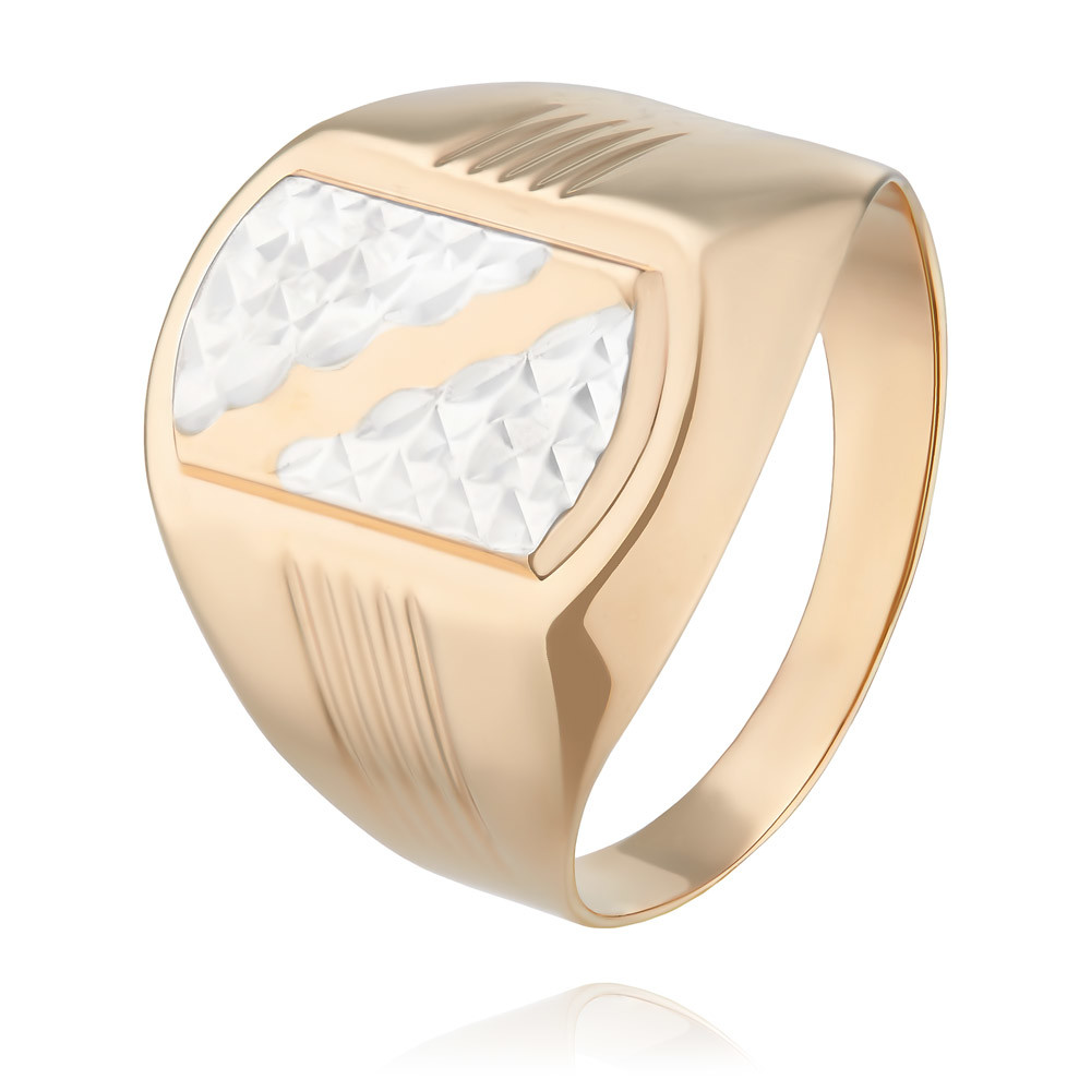 Купить Кольцо из красного золота 585 пробы, Другие, Красный, Для мужчин, 1356655/01-А507Д-01