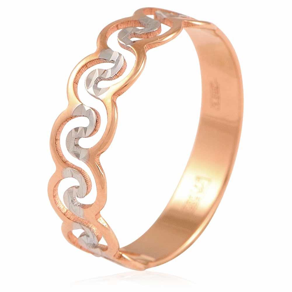 Купить Кольцо из красного золота 585 пробы, SOKOLOV, Красный, Для женщин, 1400064/01-А507Д-01
