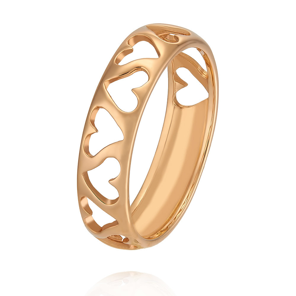 Кольцо из красного золота 585 пробыКольца<br><br><br>Вставка: Без вставок<br>Вес: 2 г<br>Артикул: 1402707-А50-01<br>Цвет: Красный<br>Металл: Золото<br>Проба: 585<br>Пол: Для женщин