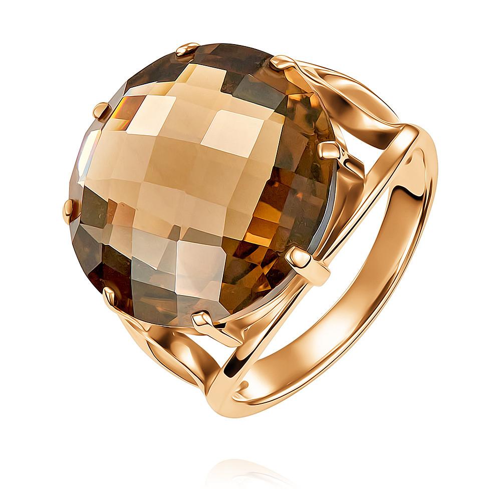 Купить Кольцо из красного золота 585 пробы с кварцем, АДАМАС, Красный, Для женщин, 1410125-А500-626