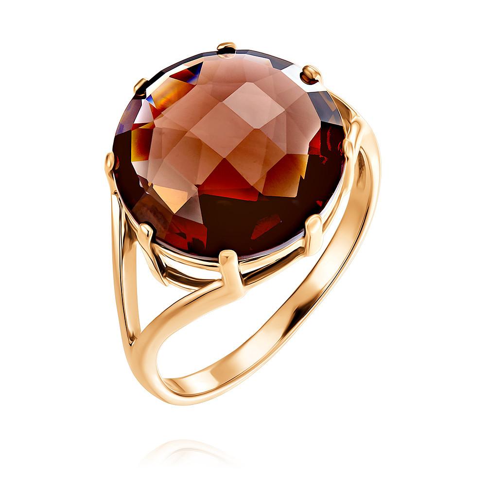 Купить Кольцо из красного золота 585 пробы с кварцем, АДАМАС, Красный, Для женщин, 1410139-А500-626