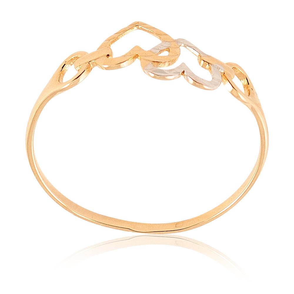 Купить Кольцо из красного золота 585 пробы, Другие, Красный, Для женщин, 1411728/01-А507Д-01