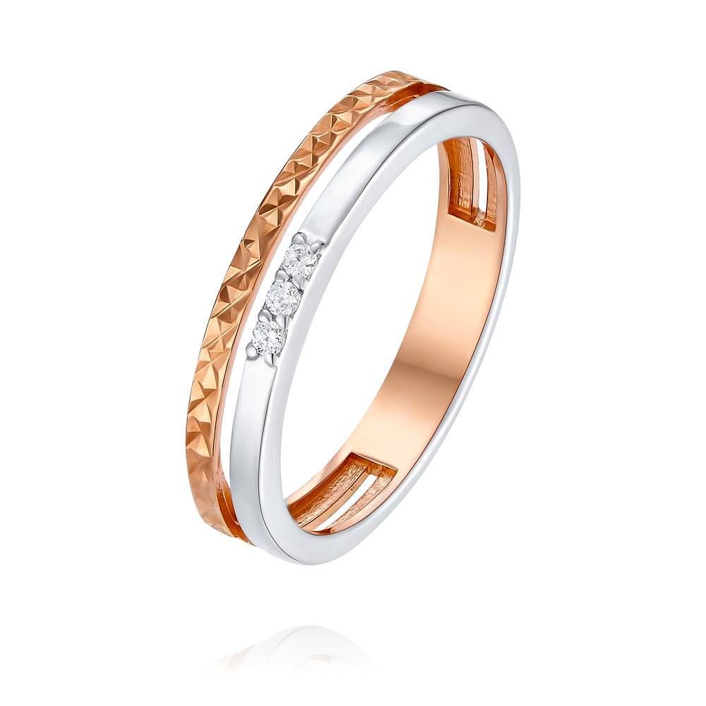 Обручальное кольцо Адамас 1411487-01-A55-435_1 от Adamas
