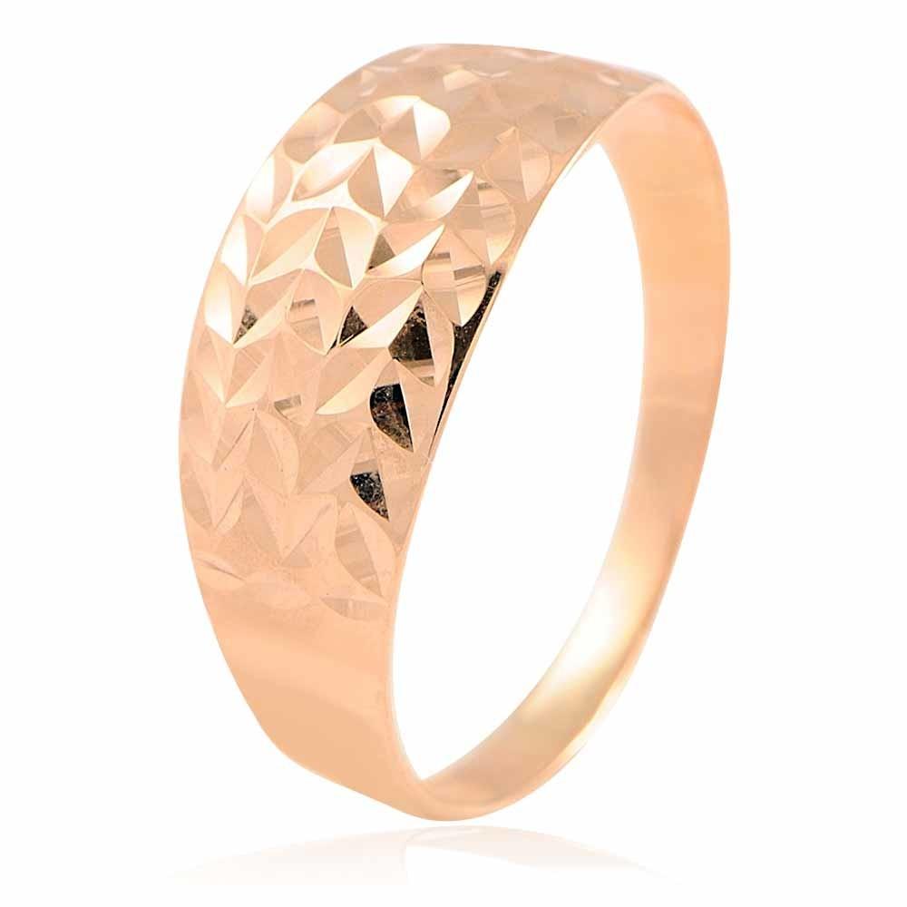 Купить со скидкой Кольцо из красного золота 585 пробы