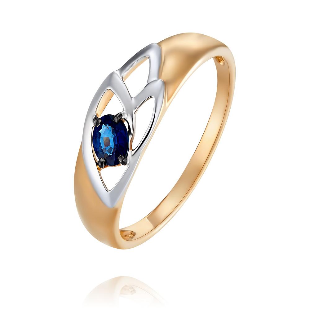 Кольцо из красного золота 585 пробы с сапфиромКольца<br><br><br>Вставка: Сапфир<br>Вес: 1.55 г<br>Артикул: 1454257/01-А50Д-542<br>Цвет: Красный<br>Металл: Золото<br>Проба: 585<br>Пол: Для женщин