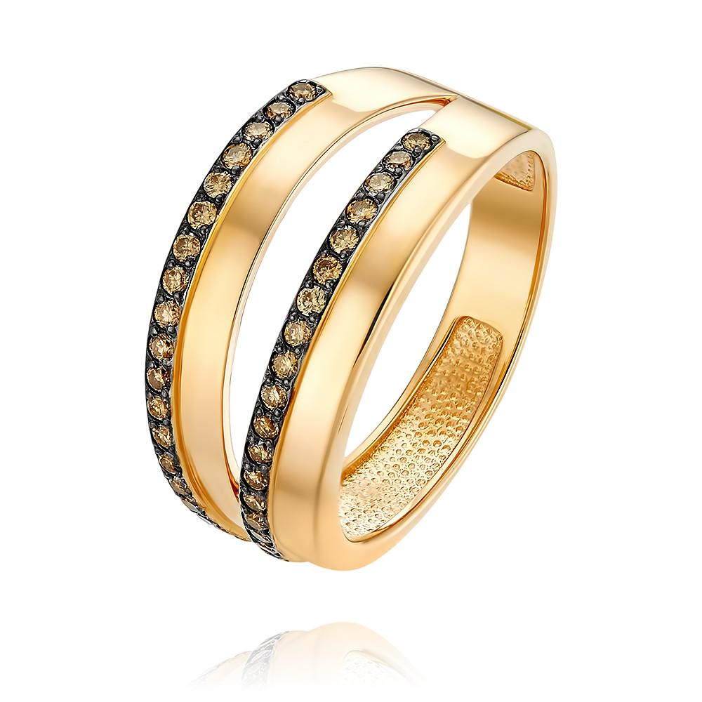 Кольцо из красного золота 585 пробы с бриллиантомКольца<br><br><br>Вставка: Бриллиант<br>Вес: 4.23 г<br>Артикул: 1456476/01-А50-425<br>Цвет: Красный<br>Металл: Золото<br>Проба: 585<br>Пол: Для женщин