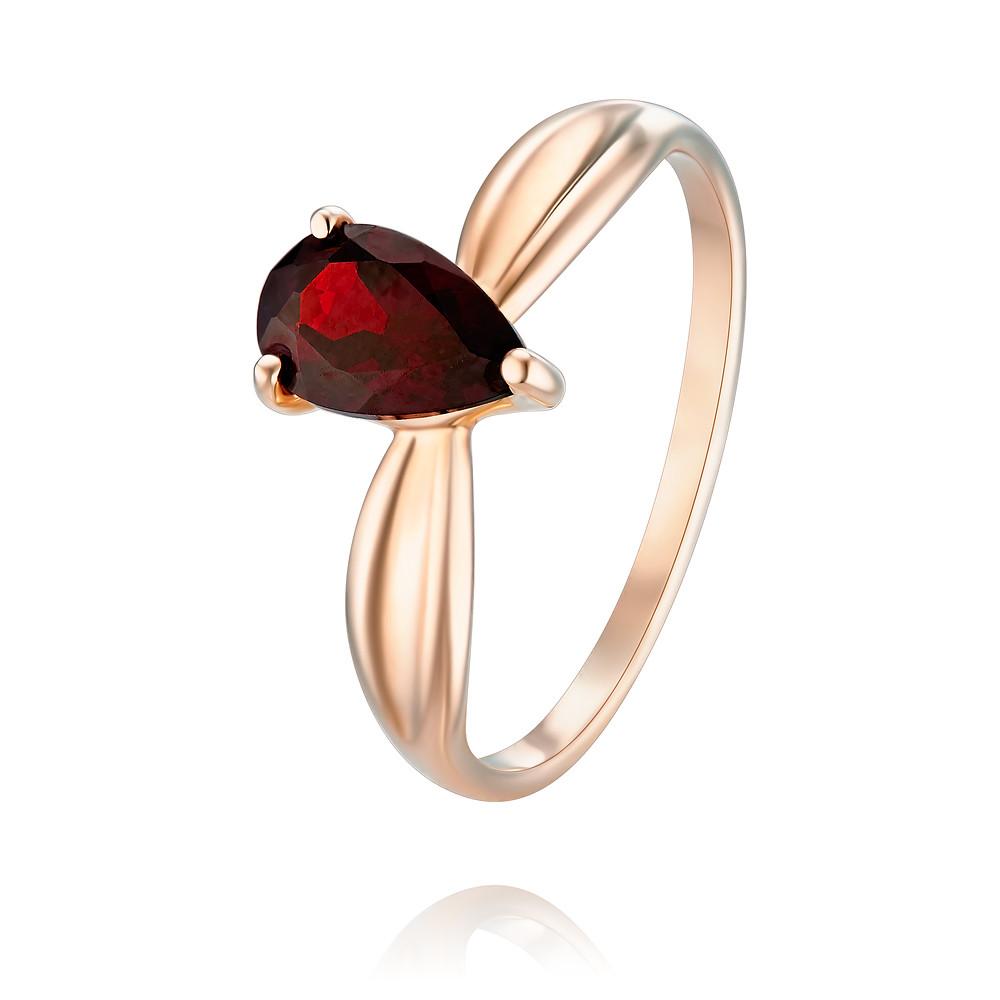 Купить Кольцо из красного золота 585 пробы с гранатом, Другие, Красный, Для женщин, 1457272/01-А50-655