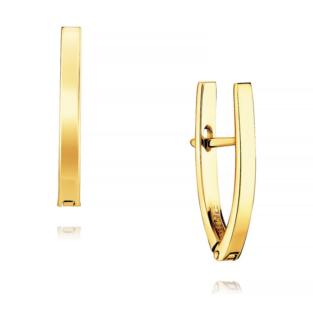 Купить Серьги из желтого золота 585 пробы, АДАМАС, Желтый, Для женщин, 2402579-А55-01