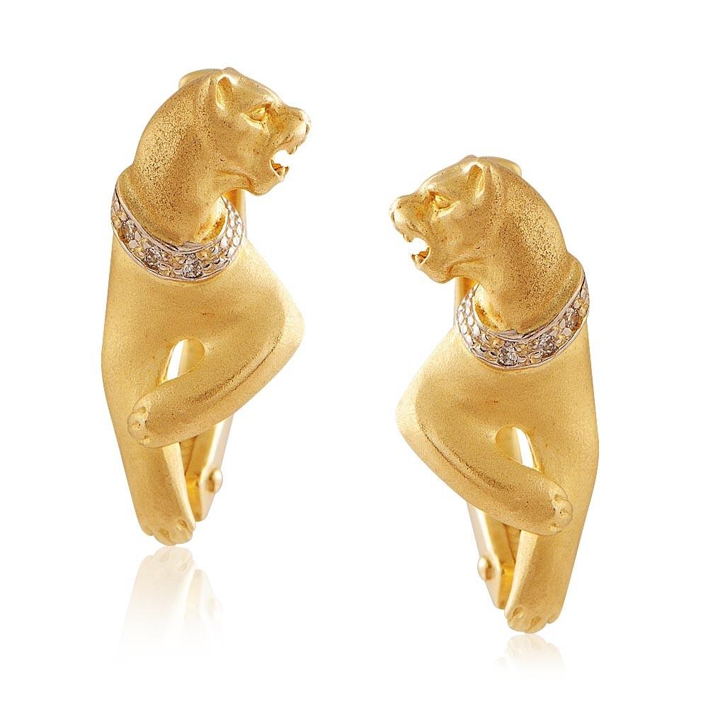 Купить Серьги из желтого золота 585 пробы с бриллиантом, Другие, Желтый, Для женщин, 2423154/01-А551Д-41