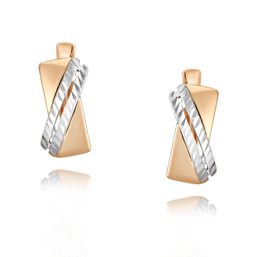 Купить Серьги из красного золота 585 пробы, SOKOLOV, Красный, Для женщин, 2456269/01-А507Д-01