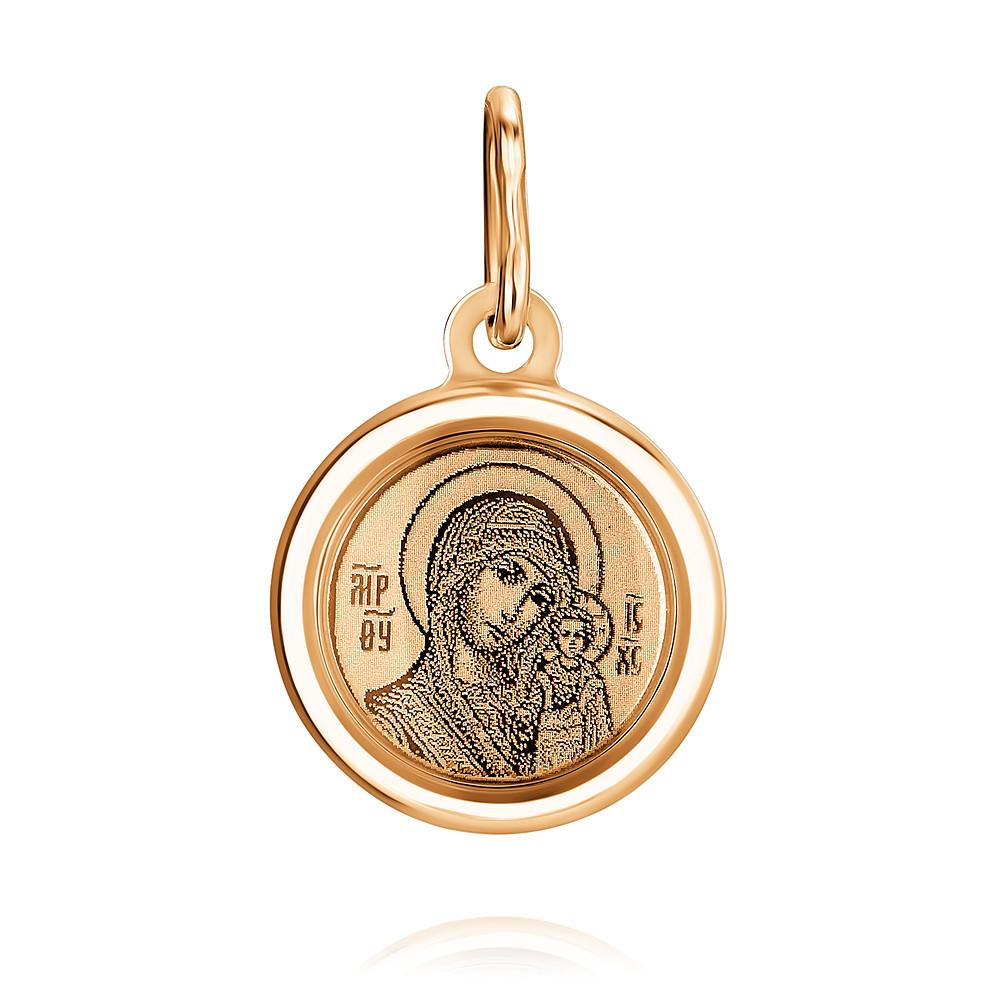 Икона из красного золота 585 пробы