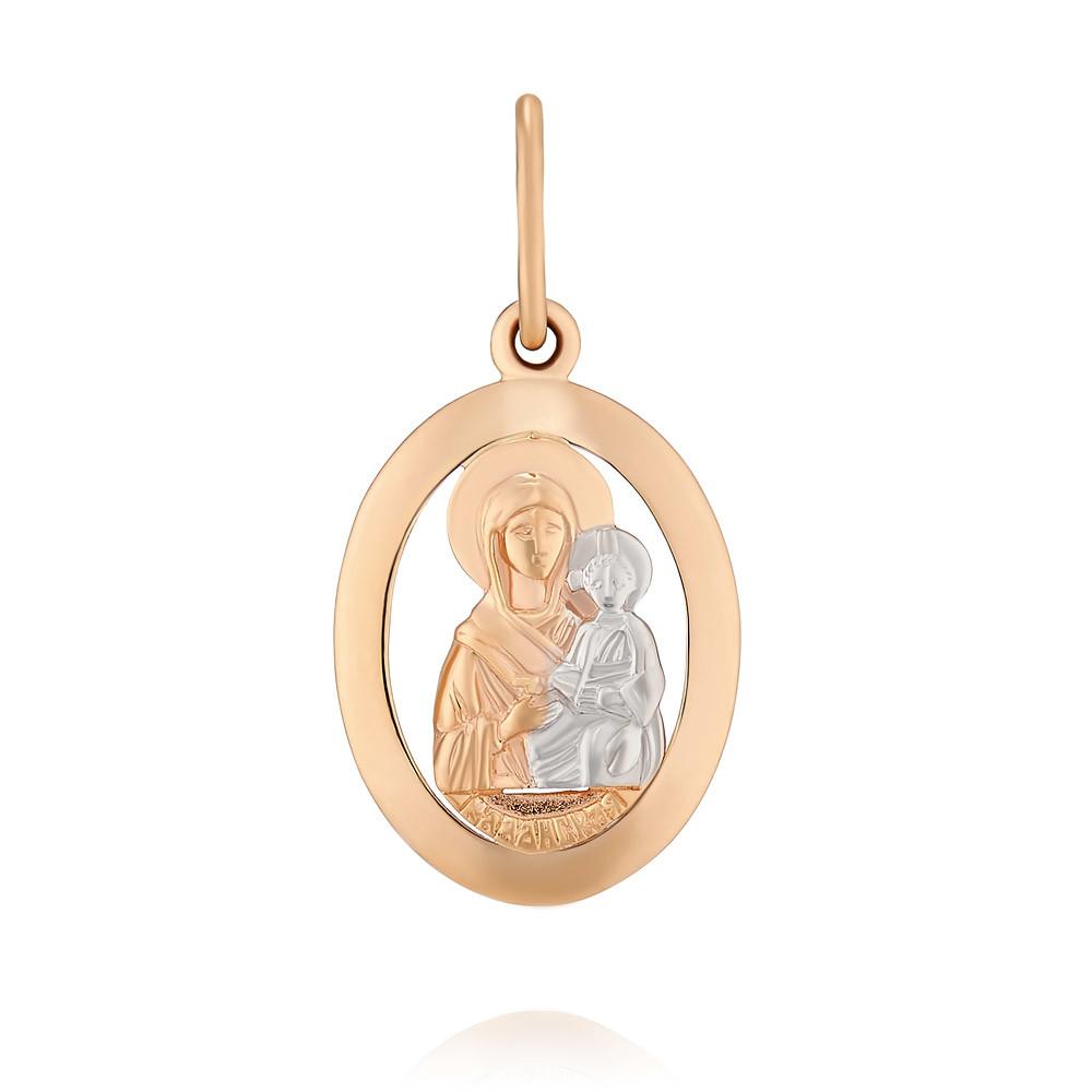 Купить со скидкой Икона из красного золота 585 пробы