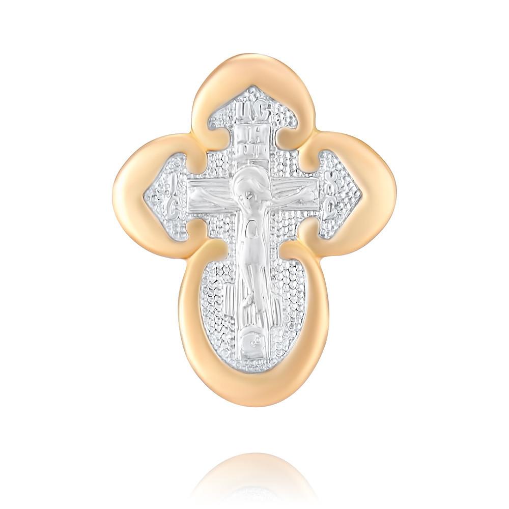 Купить Крест из красного золота 585 пробы, Другие, Красный, 3354533/01-А50Д-01