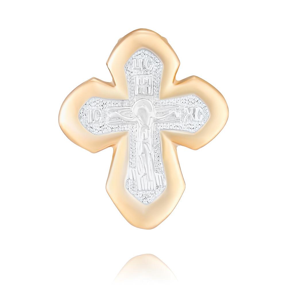 Купить Крест из красного золота 585 пробы, Другие, Красный, 3354534/01-А50Д-01