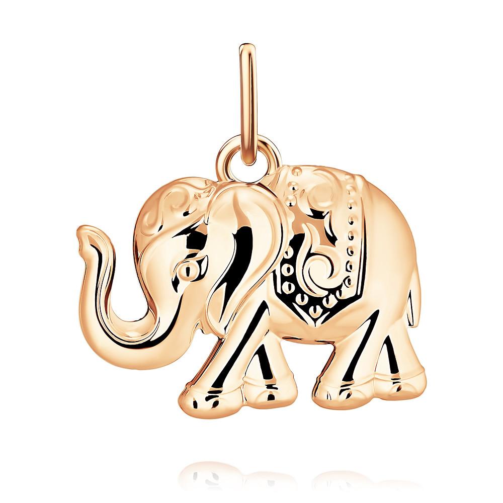 Купить Подвеска из красного золота 585 пробы, SOKOLOV, Красный, Для женщин, 3454523/01-А50Д-01