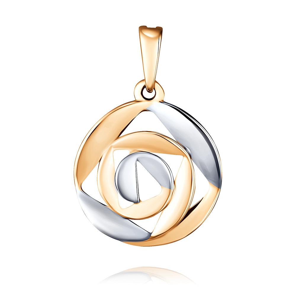 Купить Подвеска из красного золота 585 пробы, SOKOLOV, Красный, Для женщин, 3456245/01-А50Д-01