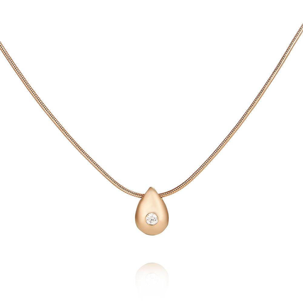 Купить Шейное украшение из красного золота 585 пробы с бриллиантом, АДАМАС, Красный, Для женщин, 8101164-А500-41