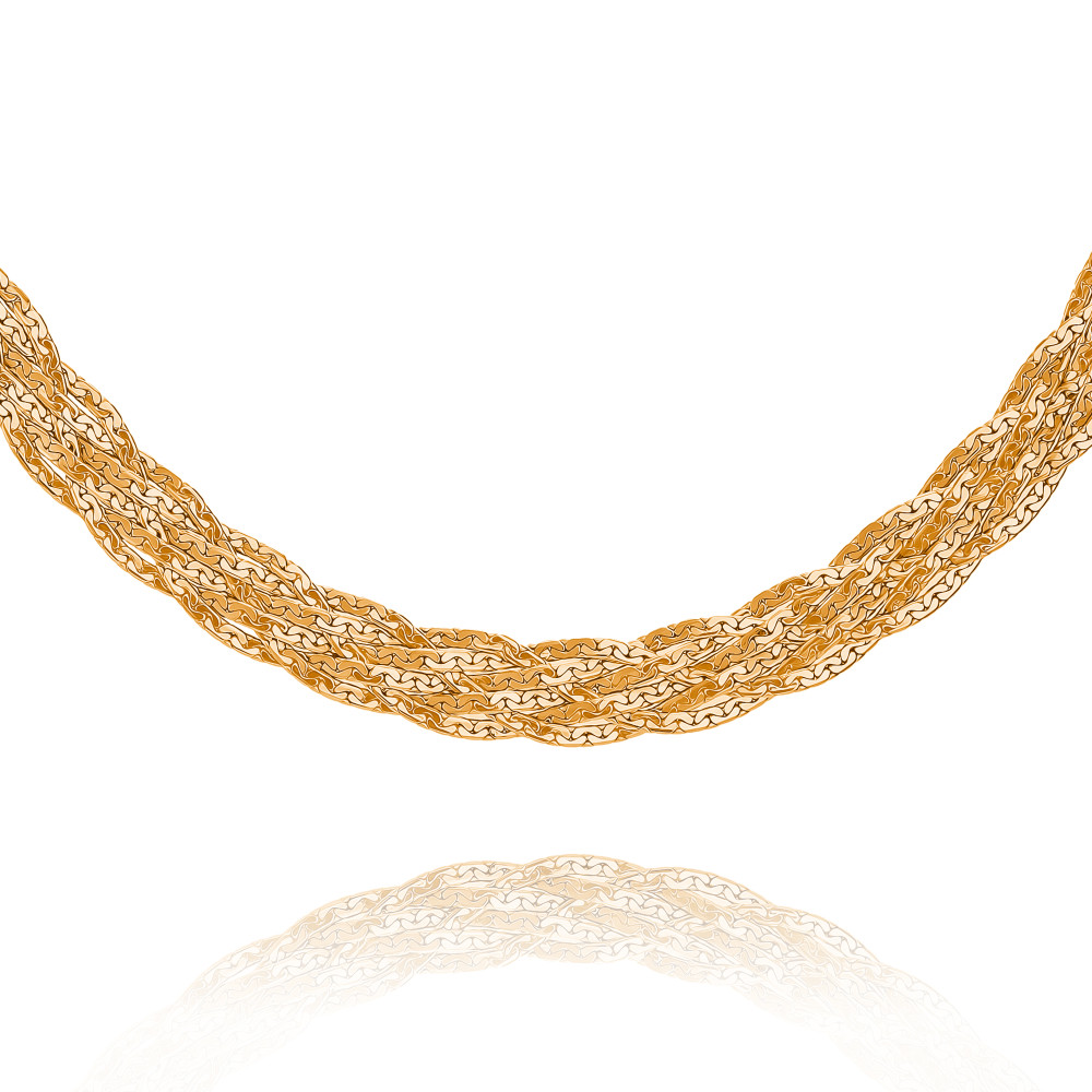 Купить Шейное украшение из красного золота 585 пробы, АДАМАС, Красный, Для женщин, 8104136-А50-01
