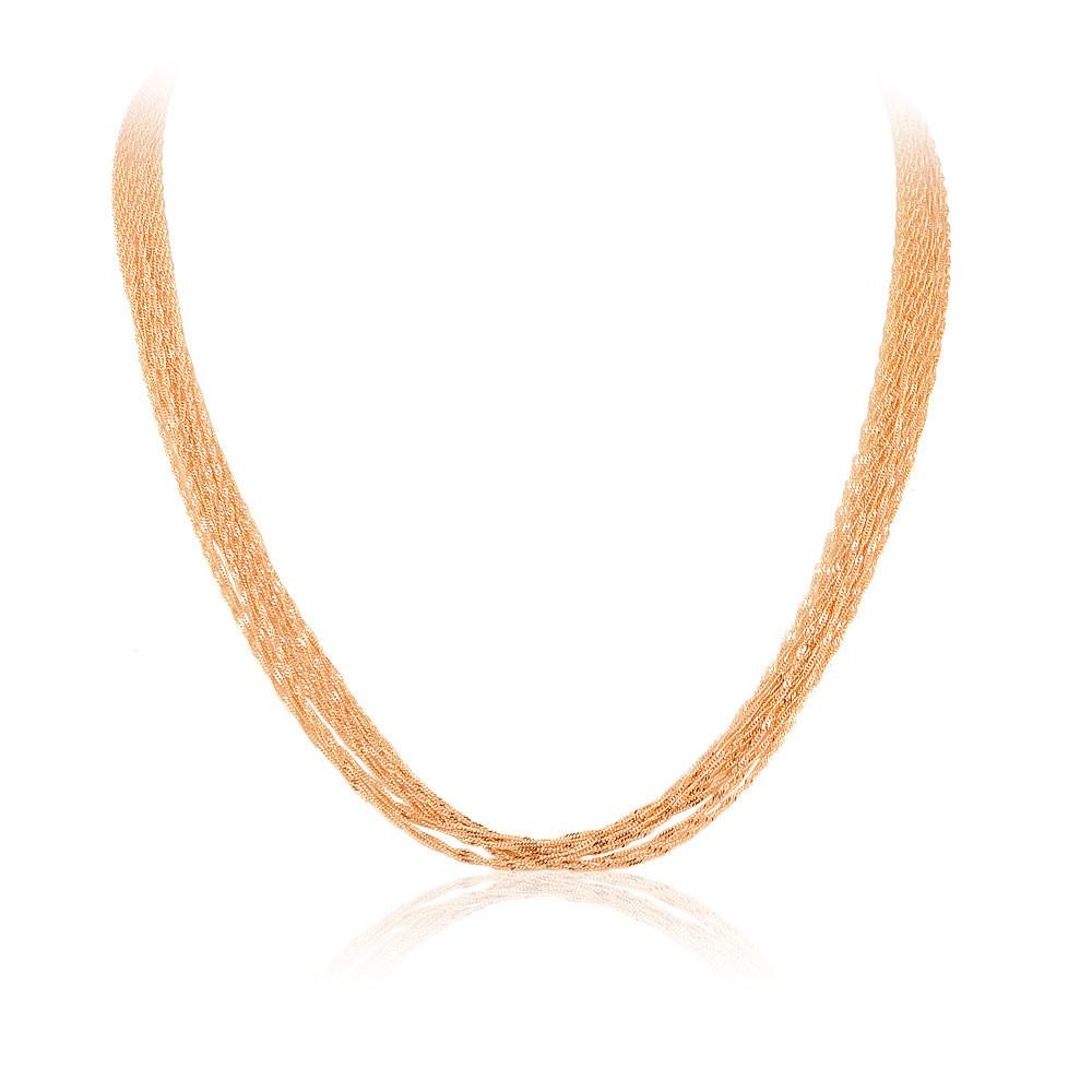 Купить Шейное украшение из красного золота 585 пробы, АДАМАС, Красный, Для женщин, 8104812-А50-01