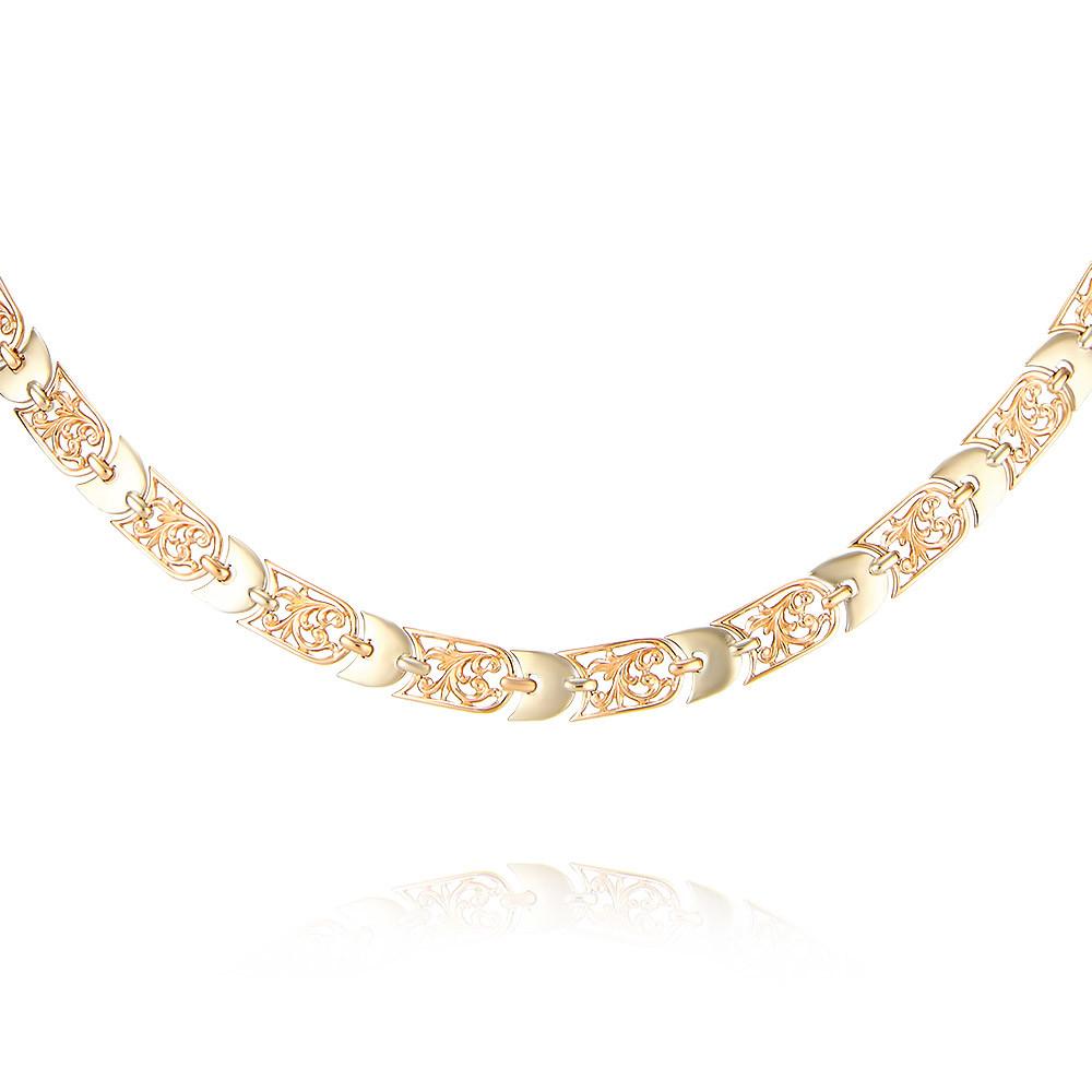 Купить со скидкой Шейное украшение из красного золота 585 пробы