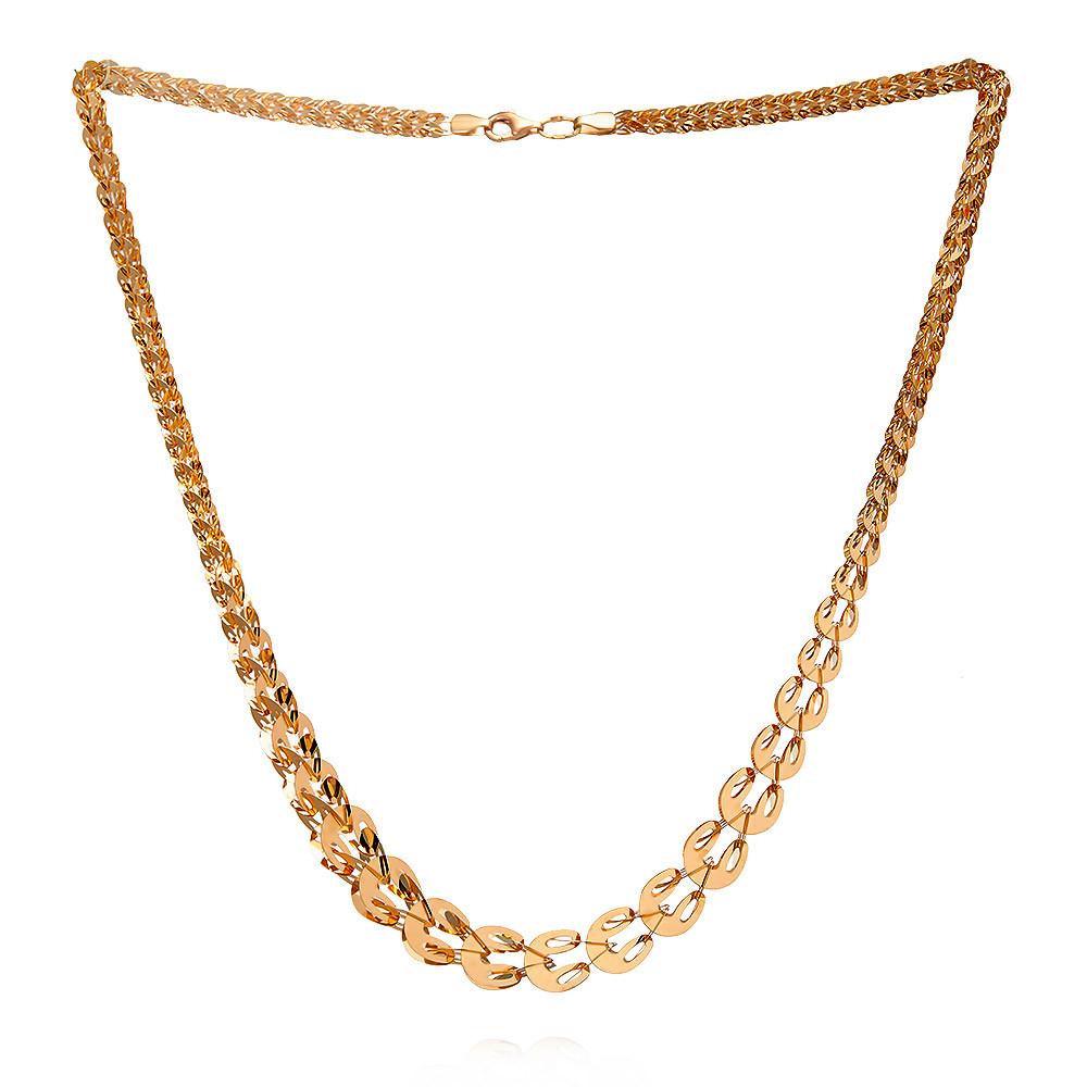 Купить Шейное украшение из красного золота 585 пробы, Другие, Красный, Для женщин, 8454792/01-А50-01