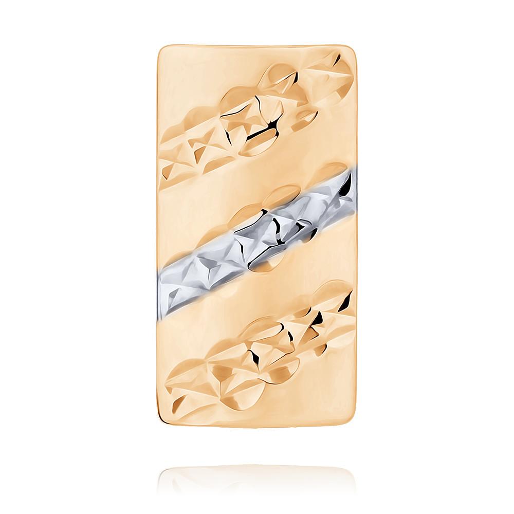 Купить со скидкой Запонки из красного золота 585 пробы