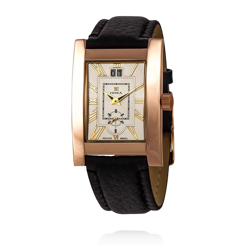 Купить Часы из красного золота 585 пробы, НИКА, Красный, Для мужчин, Ф120136/05-А50-01