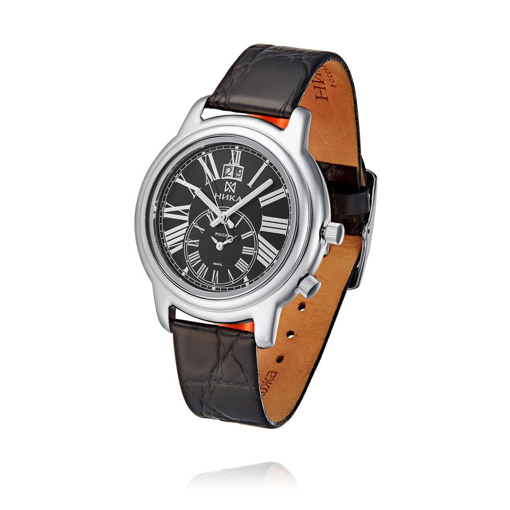 Купить Часы из белого серебра 925 пробы, НИКА, Для мужчин, Ф127929/01-С8Д-01