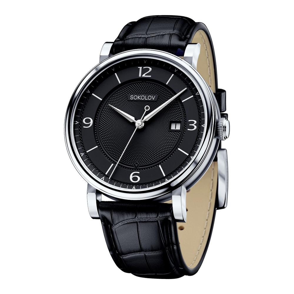 Часы из белого серебра 925 пробы