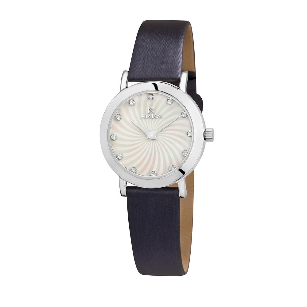 Купить Часы из белого серебра 925 пробы, НИКА, Для женщин, Ф152174/02-С8Д-01