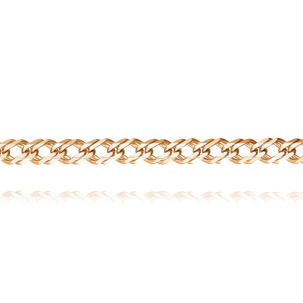 Купить со скидкой Цепь из красного золота 585 пробы