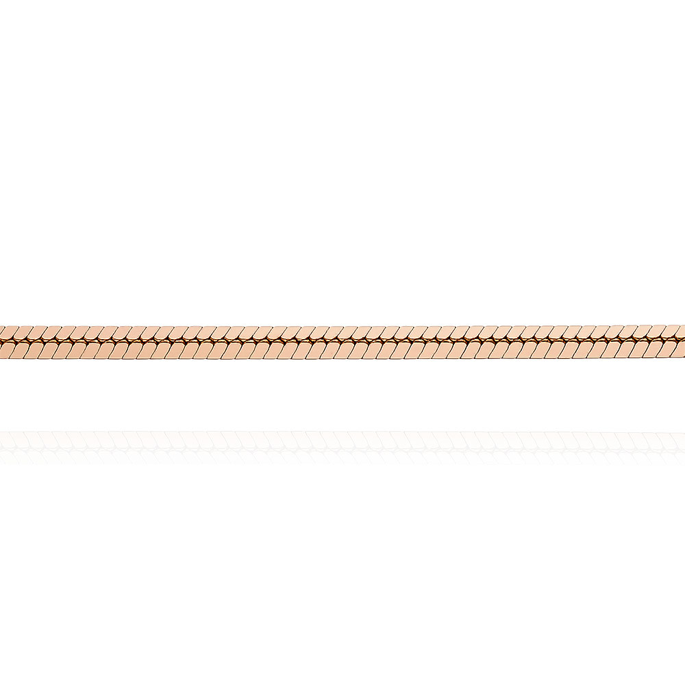 Цепь, плетение Шнурок